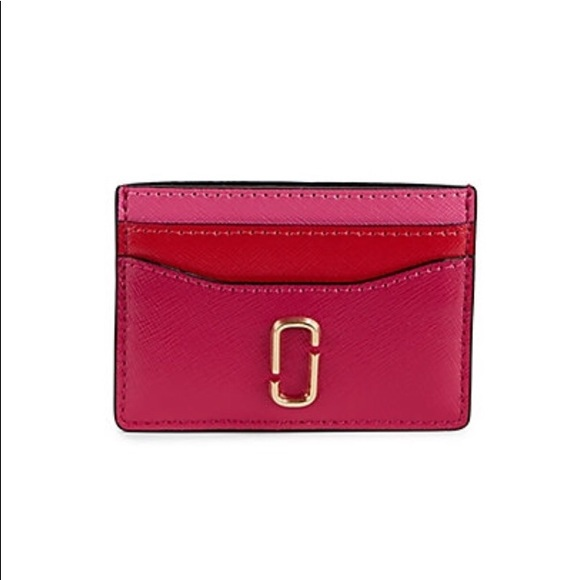 online retailer 2ff3f 55612 Marc Jacobs Snapshot leather card case NWT